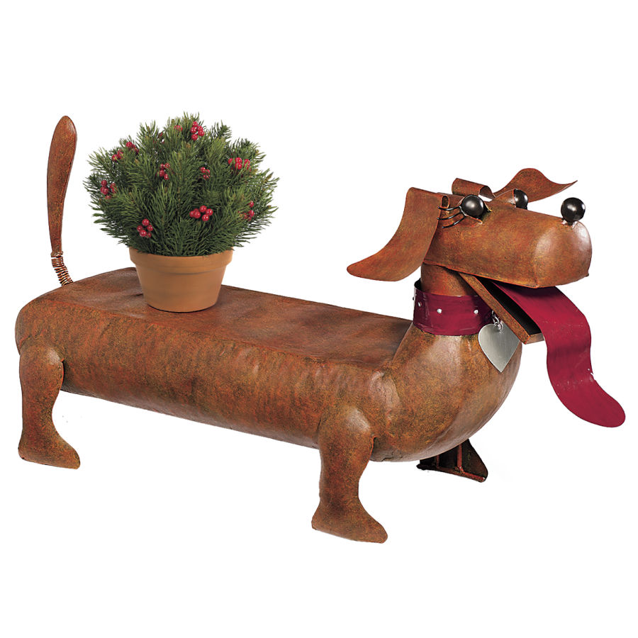 Weiner Dog Bench Goldenacresdogs