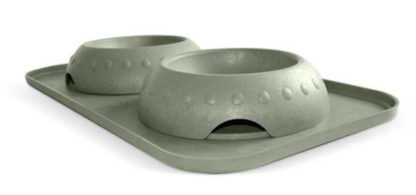 Natural Rice Hulls Dog Feed Bowls
