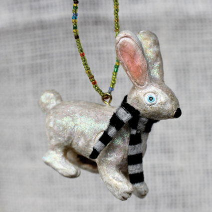 Sir Hop Bunny Ornament