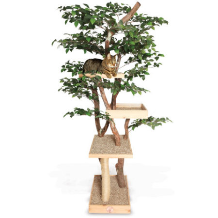 The Feline Cat Tree from Hammacher Schlemmer