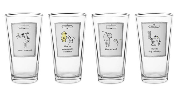 A Dog's Tale glassware, Chapter 1