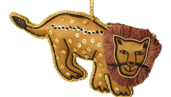 Lion Ornament by Indian artisans