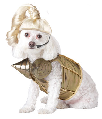 Blond Hambition Dog Costume: image via costumekingdom.com