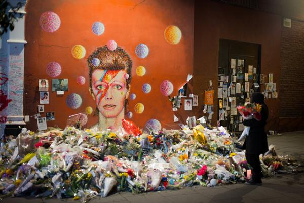 David Bowie - Ziggy Stardust memorial