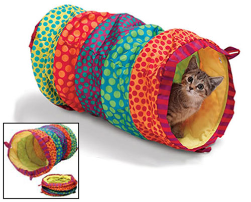 Cat Cuddle Tunnel: by petsimple.com
