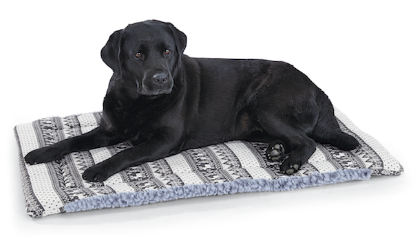 HuggleHounds HuggleFleece Reversible Nordic Dog Mat