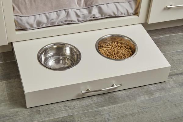 Pull Out Dog Feeders By Wellborn Cabinets