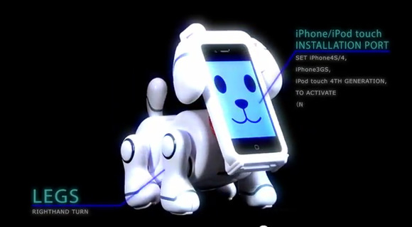 SmartPet Robot Dogs from Bandai Rock Your iPhone Dock
