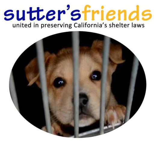 Sutter's Friends, ironically named for Governor Brown's dog, Sutter