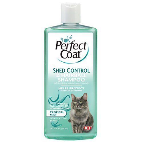 Perfect Coat Shed And Hairball Control For Cats