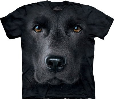 Black Lab T-Shirt by The Mountain
