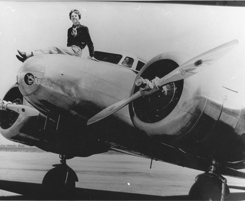 search continues for Amelia Earhart with bone sniffing dogs