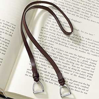 Stirrup Bookmark for horse lovers
