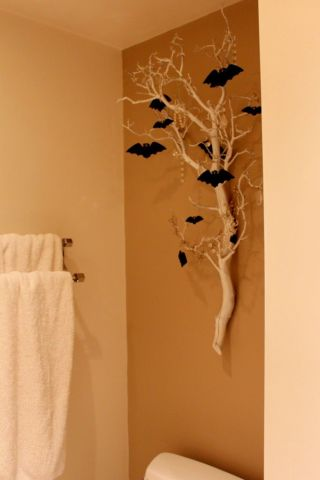 Trees With Bats For Your Wall