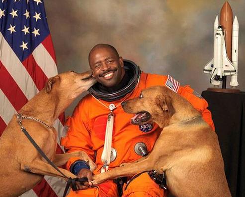 Astronaut's Dogs