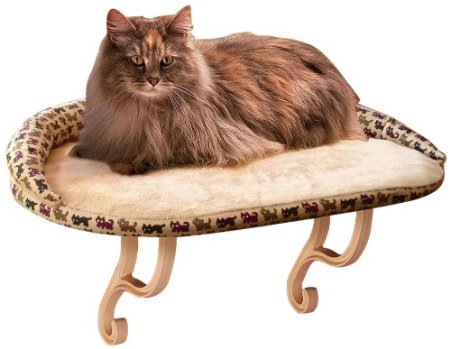 K&H Kitty Sill Deluxe with bolster