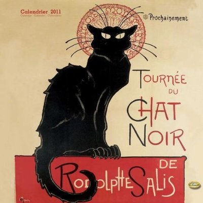 Tournee du Chat Noir 2011 Calendar