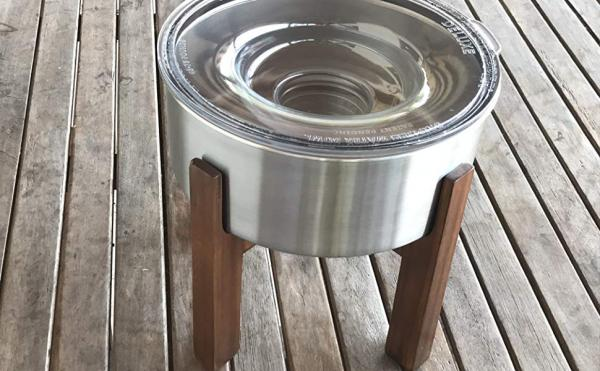 Slopper Stopper Elevated Dog Bowl Stand