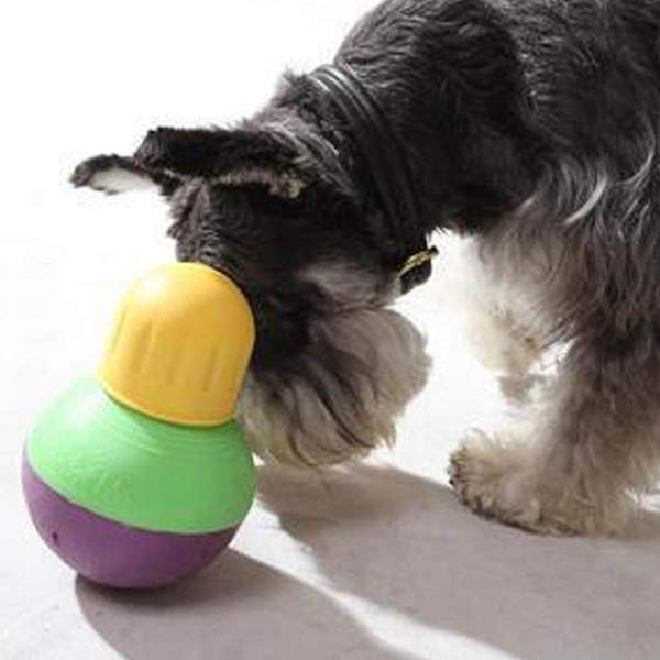 Bob-A-Lot Interactive Dog Toy