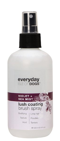 Isle of Dogs Everyday Violet & Sea Mist Lush Coating Brush Conditioning Spray