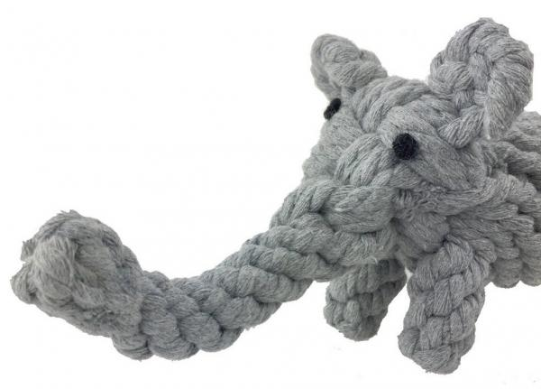 PetPuppy Elephant Rope Toy