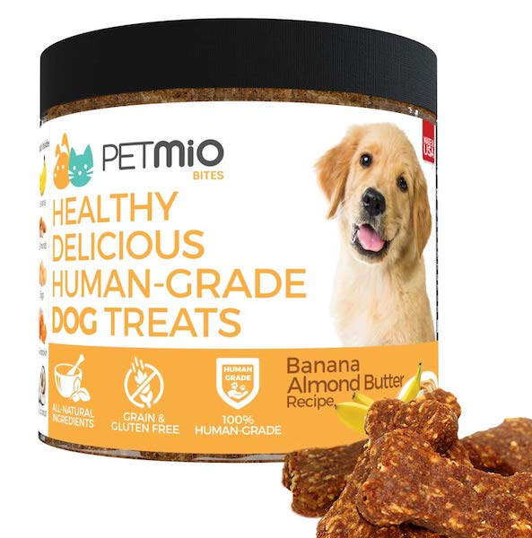 PetMio Bites - Human Grade Dog Treats