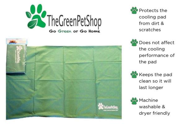 The Green Pet Shop Cooling Mat Cover