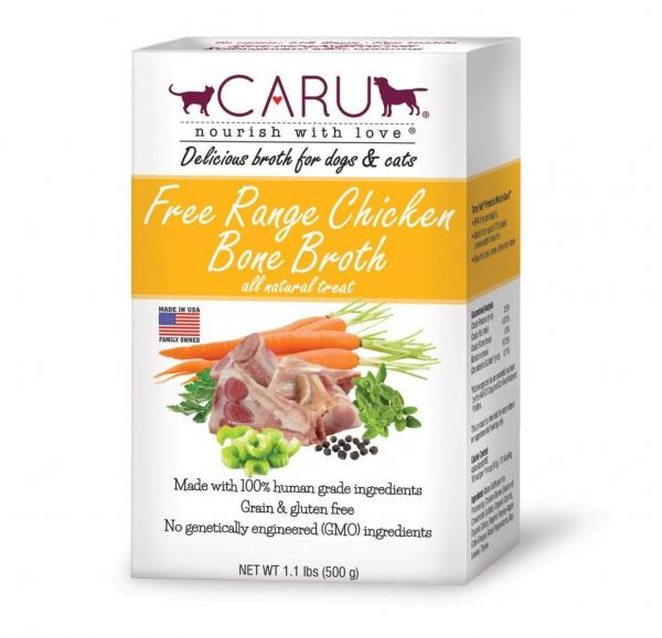 Caru Pet Food Free Range Chicken Bone Broth