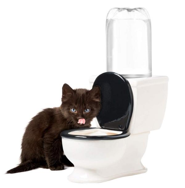 BigMouth Inc The Toilet Water Dish for Pets