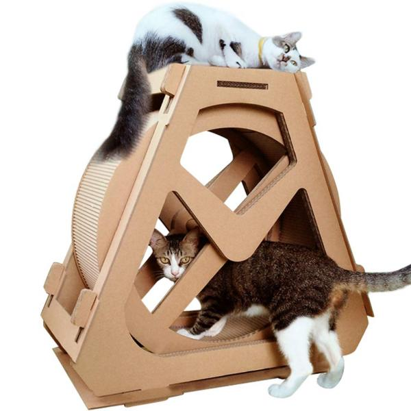 Creation Core Multi-Level Cat Scratcher