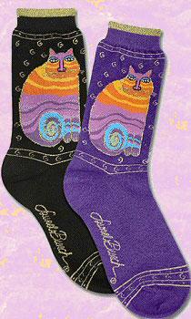 Laurel Birch Cat Lover Socks