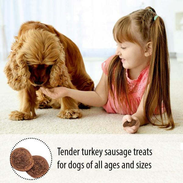 Emerald Pet Purely Prime Tender Turkey Sausage Slices