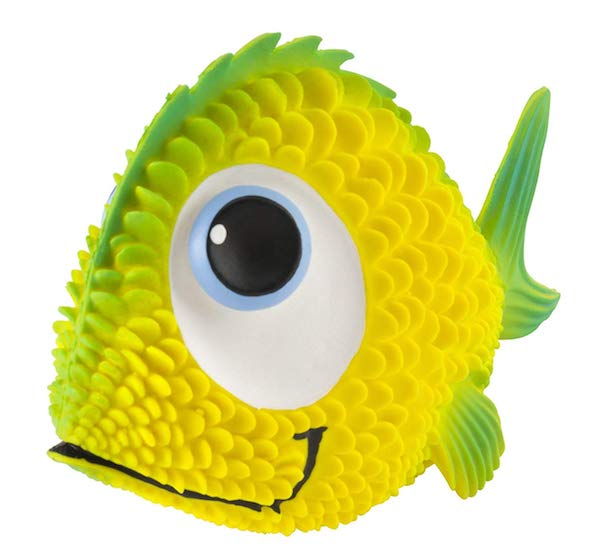 Sensory Fish Dog Toy
