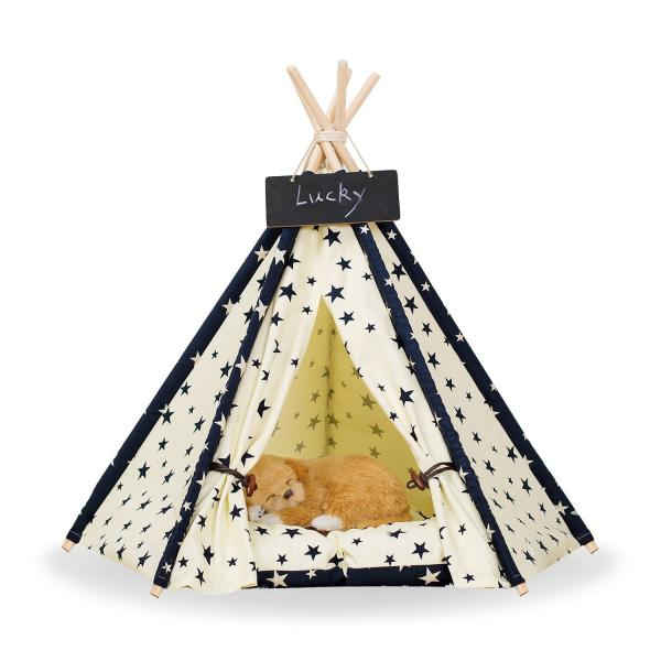Zaihe Pet Teepee Dog & Cat Bed