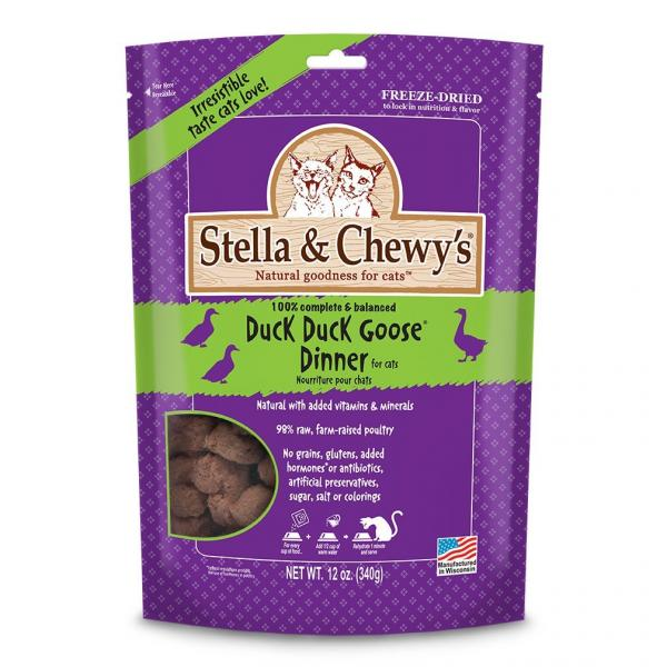 Stella & Chewys raw diet for cats