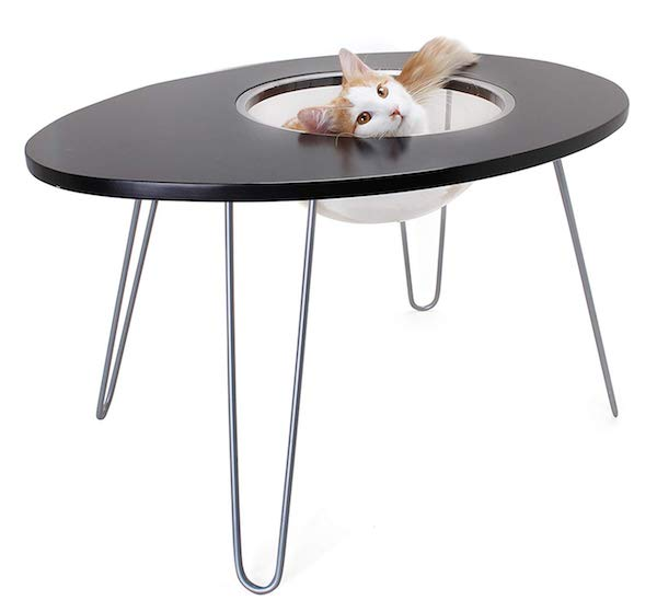 Primetime Petz Hauspanther Nestegg - Raised Cat Bed & Side Table