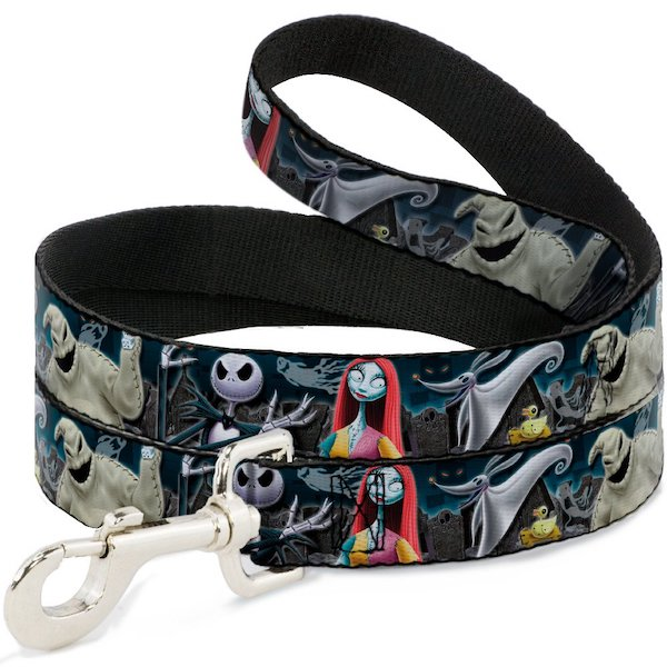 Buckle-Down Nightmare Before Christmas Dog Leash