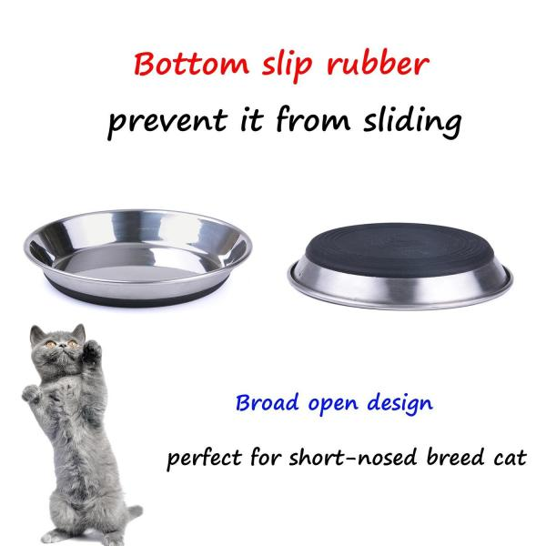 SuperDesign Ergonomic Flat Cat Dish