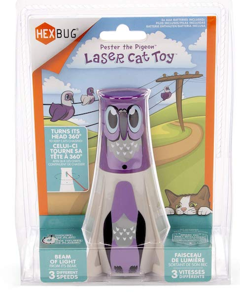 HEXBUG Cat Toy Beacon Pester The Pigeon