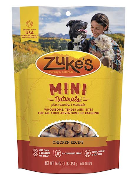 Zuke's Mini Natural Training Dog Treats