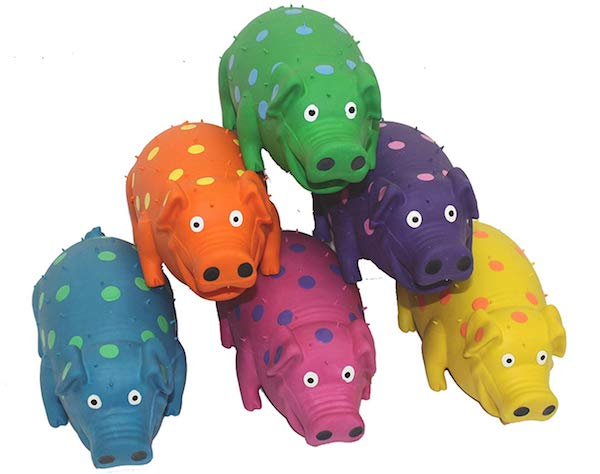 MultiPet Goblets, Pig Latex Dog Toy