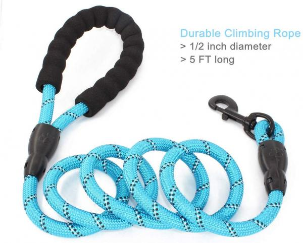 BAAPET Strong Dog Leash With Comfortable Handle