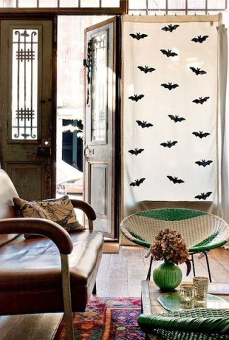 Bat Curtains