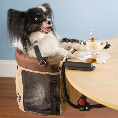 The Pet High Chair: Hammacher Schlemmer