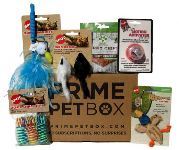 Prime Pet Box Premium Cat Gift Box