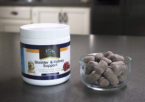 K9 Natural Cranberry Herb Supplements Help Dogs With