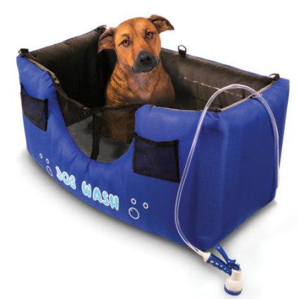 Inflatable Dog Shower