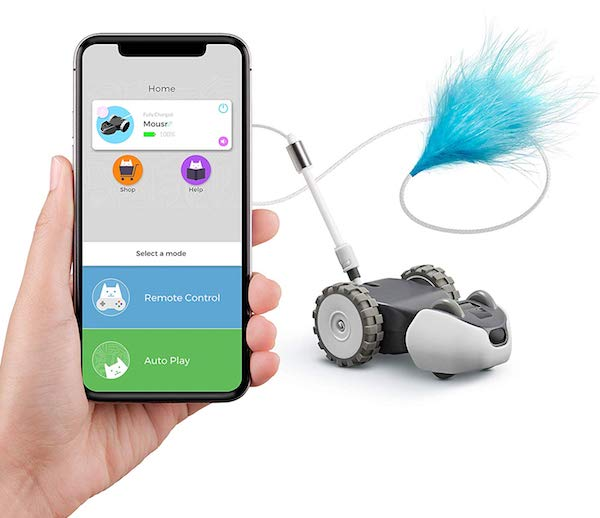 Petronics Mousr Robotic Cat Toy