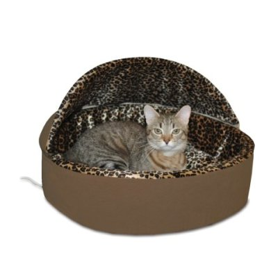 K&H Thermo-Kitty Bed Deluxe Hooded Cat Bed