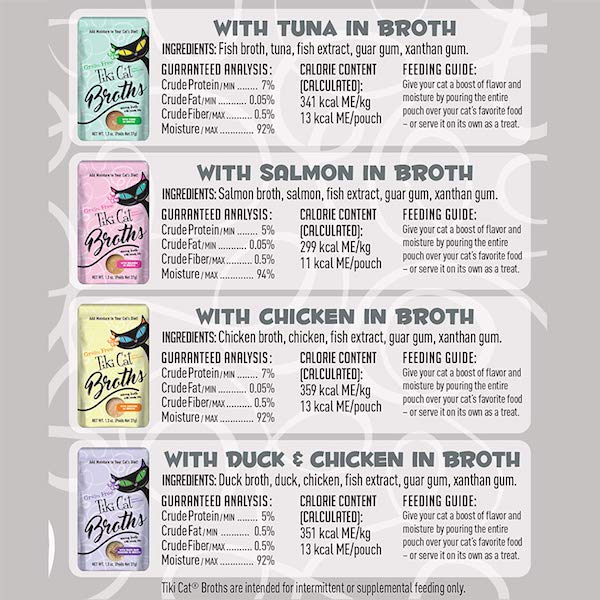 Tiki Cat Broths Ingredients